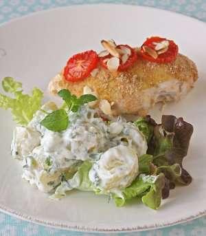 Prøv også Ovnsbakte kyllingfileter med sennep og tomat.