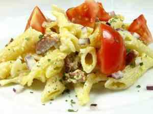 Prøv også Pasta Carbonara.