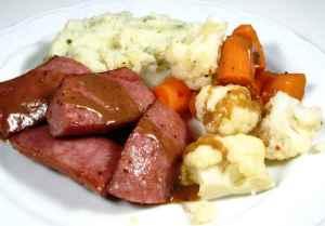 Prøv også Middagspølser med potetmos.