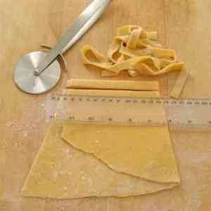 Hjemmelaget pasta oppskrift.