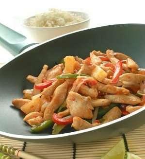 Prøv også Wok med sursøt saus.