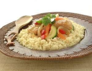 Kylling og couscous Marrakesh oppskrift.