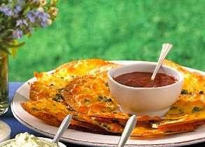 Prøv også Ostechips med tomatsalsa.