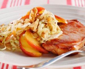 Prøv også Røkt svinekotelett med kålsalat.