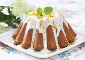 Formkake med sitron og valmuefrø oppskrift.