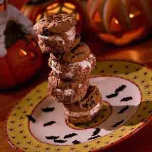 Bilde av Chocolate chip cookies med vaniljeis.