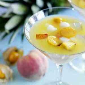 Eksotisk fruktsuppe 2 oppskrift.