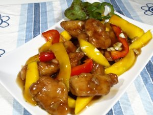 Prøv også Kylling med mango.