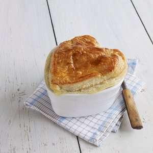 Prøv også Thaigryte med butterdeigslokk.