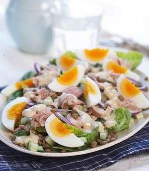 Prøv også Tunfisksalat med egg.