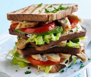 Club Sandwich med Quorn oppskrift.