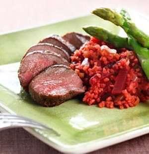 Prøv også Lammefilet med rødbetebulgur.