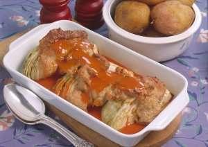 Prøv også Kål i form med tomatsaus.