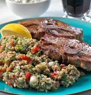 Prøv også Lammekoteletter med Taboulè.