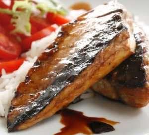 Prøv også Teriyaki- marinerte makrellfileter.