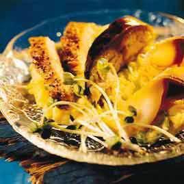 Festmåltid med røkt makrell oppskrift.