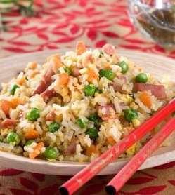Prøv også Stekt ris med skinke.