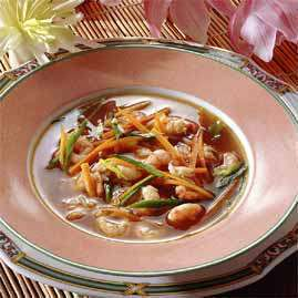Prøv også Thai ´hot and sour´ fiskesuppe.