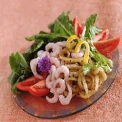 Prøv også Reker med fennikelsalat.