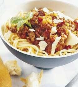 Prøv også Spagetti Bolognese 3.