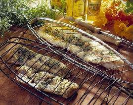 Grillet slettvar eller annen flatfisk oppskrift.
