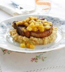 Karrikoteletter med potet- og grønnsaksmos oppskrift.