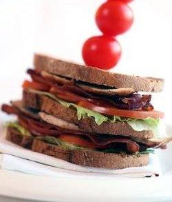 Prøv også Club sandwich med grønnsaker og kylling.