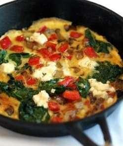 Prøv også Frittata - italiensk omelett.