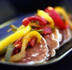 Prøv også Blinis med karristekt paprika.
