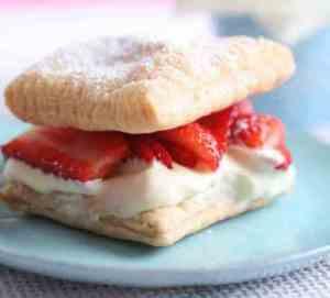 Prøv også Jordbær a la Napoleon.
