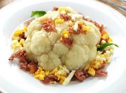 Prøv også Blomkål med egg og bacon.