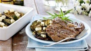 Prøv også Entrecôte med aubergine og squashform.