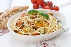 Prøv også Spagetti med småtomater og urter.