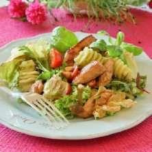 Prøv også Kylling- og pastasalat med pesto.