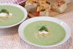 Read more about Grønn sommersuppe med laks in our websites(In Norwegian).