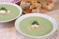 Prøv også Grønn sommersuppe med laks.