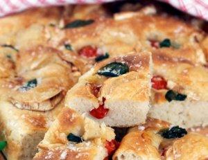Prøv også Tomat- og chèvre brød.
