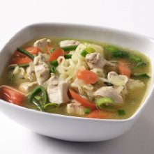 Prøv også Kylling- og nudelsuppe med grønnsaker.
