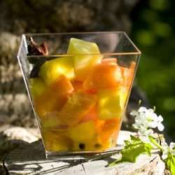 Prøv også Mango-, papaya- og pasjonsfruktsalat.