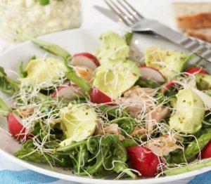Prøv også Kyllingsalat med avokado og cottage cheese.