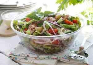 Prøv også Quinoasalat med agurk og rabarbra.