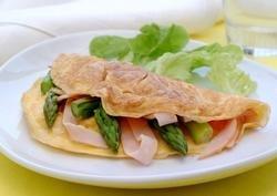 Prøv også Omelett med skinke og asparges.