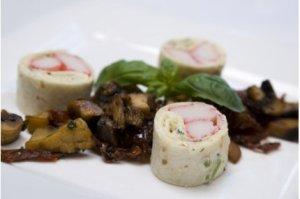 Prøv også Tortillalefse med CrabSticks og basilikum.