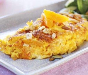 Prøv også Omelett med aprikos og chèvre.