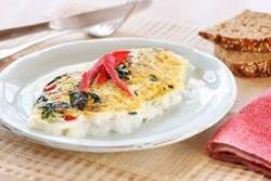 Prøv også Eggehviteomelett med spinat og paprika.