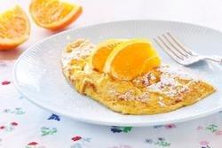 Prøv også Appelsinomelett.