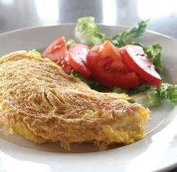 Prøv også Omelett med skinke og paprika.