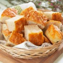 Prøv også Hvitløkbrød med cheddar.