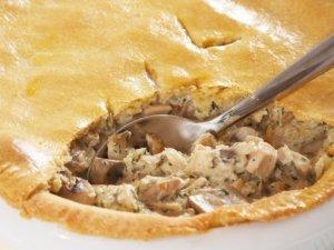 Prøv også Pai med kylling og sopp.