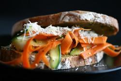 Prøv også Gulrotsandwich med parmesan.